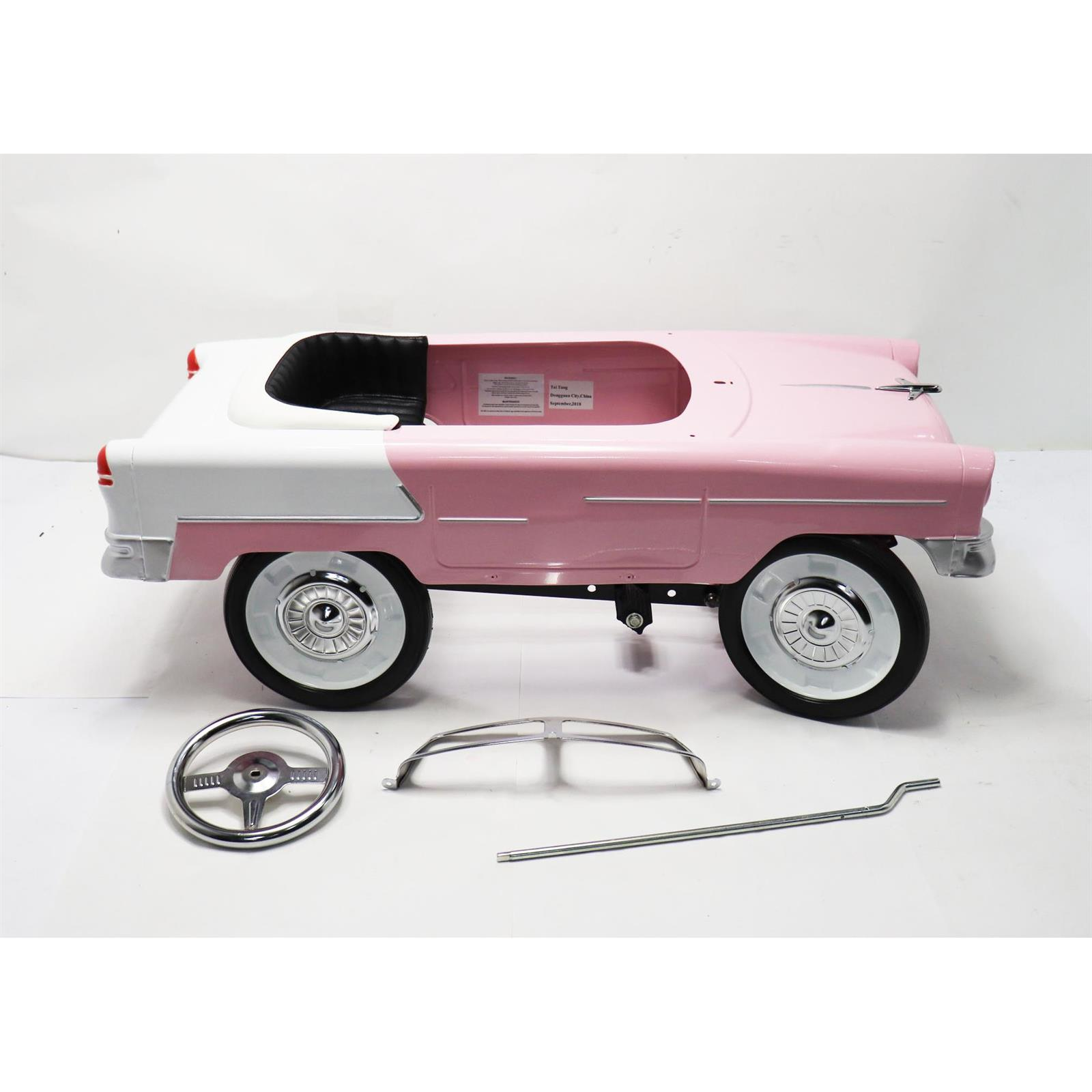Instep Pink Pedal Car photo 11