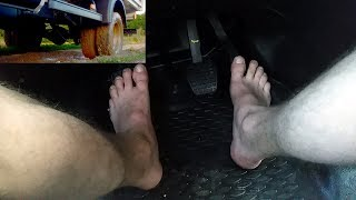 Bare Foot Pedal Pumping photo 28
