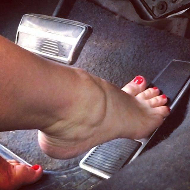 Bare Foot Pedal Pumping photo 26
