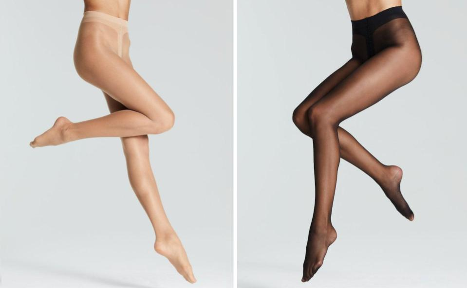 Black Stockings With Open Toed Shoes photo 23