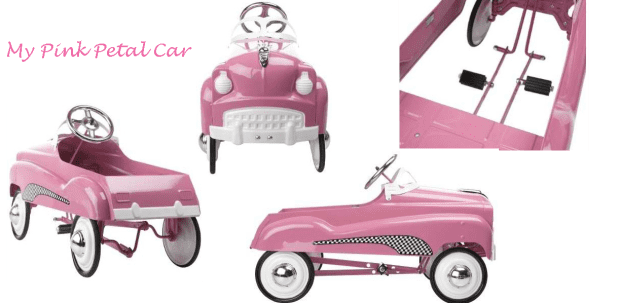 Instep Pink Pedal Car photo 28