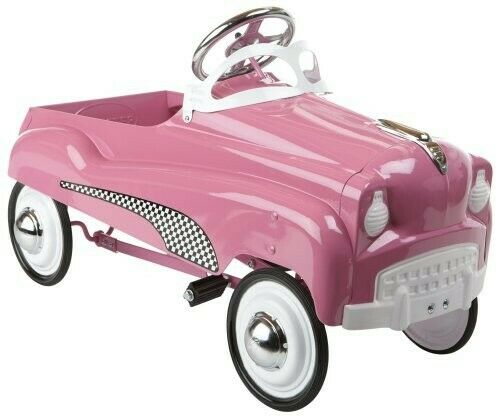Instep Pink Pedal Car photo 4